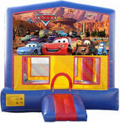 Cars Bounce House Jump