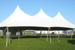 20 x 40 High Peak Frame Tent  Pkg