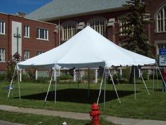 20 x 20 Pole Tent Package A