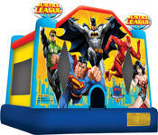 Justice League Moon Bounce