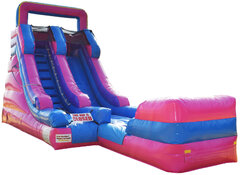 15' PINK PRINCESS SLIDE