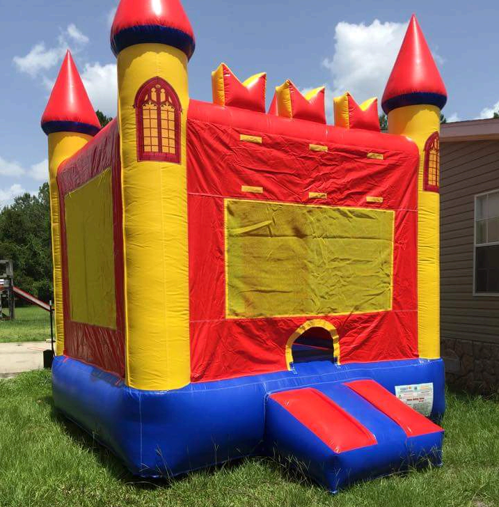 Red Castle Bounce House Rental