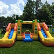 Double wet or dry Combo Bouncer
