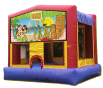 Luau Bounce House