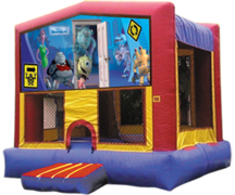 Monster's Inc Bounce House