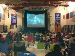 20 Foot Movie Night
