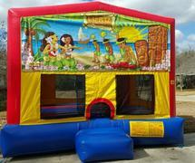 Bounce House -Hawaiian Luau