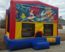 Bounce House -Little Mermaid