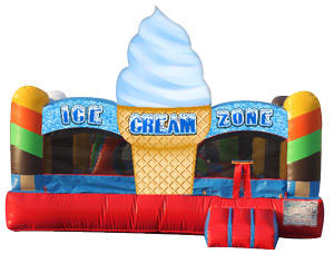 Ice Cream Toddler Bouncer rental