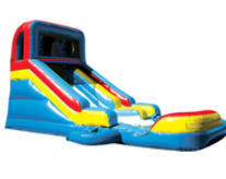 14ft Multi-Color Slide with Pool