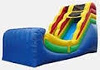 16ft Half Pipe Water Slide