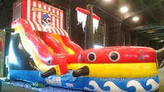 18' Pirate Slide