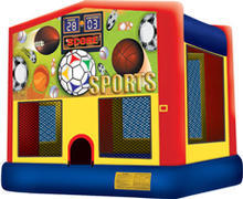 13ft Sports Bounce House