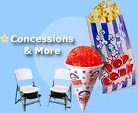 CONCESSIONS & ADD ONS