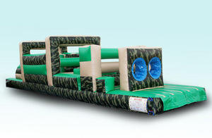 32' Camo Obstacle Course