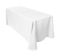 White Table Cover-Linen