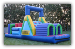 "68"" Rainbow Obstacle Course (dry)"