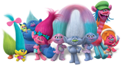 Trolls Bouncer Banner