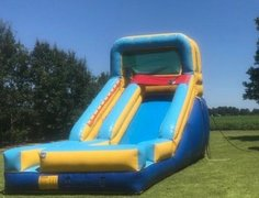 16ft blue and yellow slide