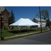 20ftx30ft white pole tent