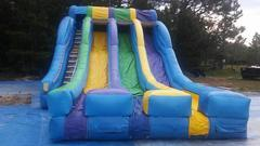 20 ft triple slide