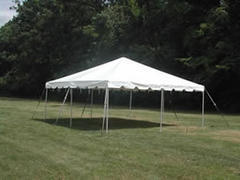 15x15 Frame Tent Package
