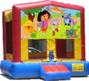 Dora The Explora Bouncer - 13x13