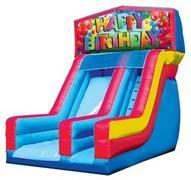 Happy Birthday 2 Dry Slide