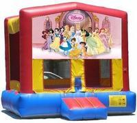 Disney Princess ALL Bouncer - 13x13
