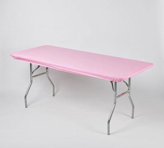 Fitted Table Cover Pink (Reusable)