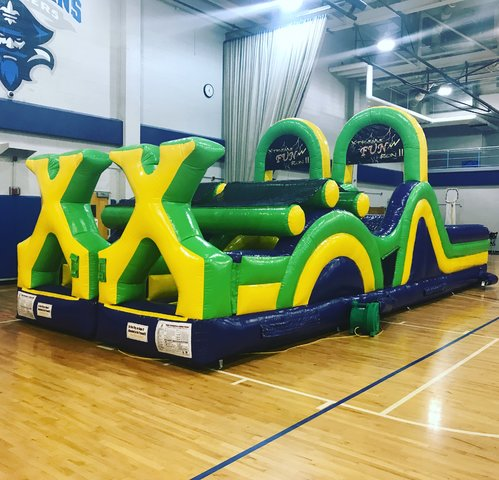 Mardi Gras Jr. (34' Obstacle Course)