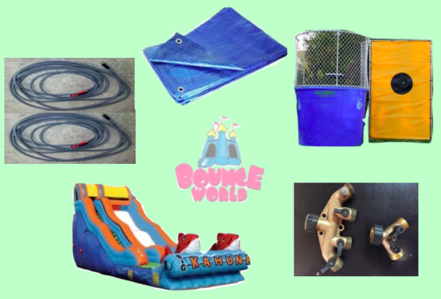 Waterslide & Dunk Tank Combo #1