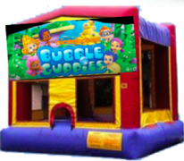 Bubble Guppies bounce