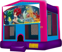 Little Mermaid Pink Bounce