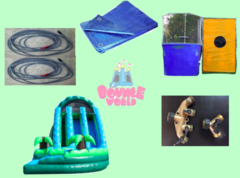 Waterslide & Dunk Tank Combo #2