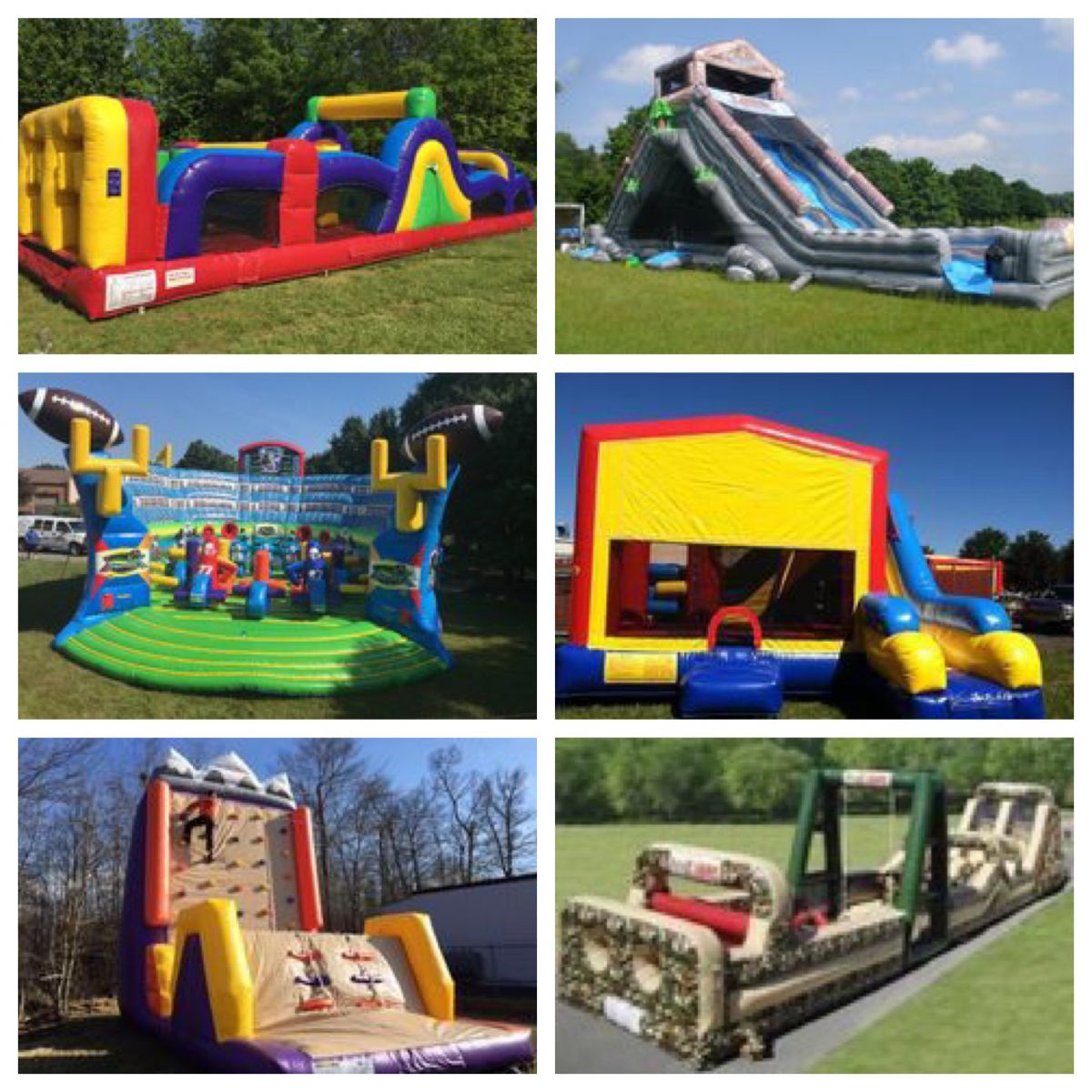 maryland bounce house party rentals backyardamusements com white rh backyardamusements com