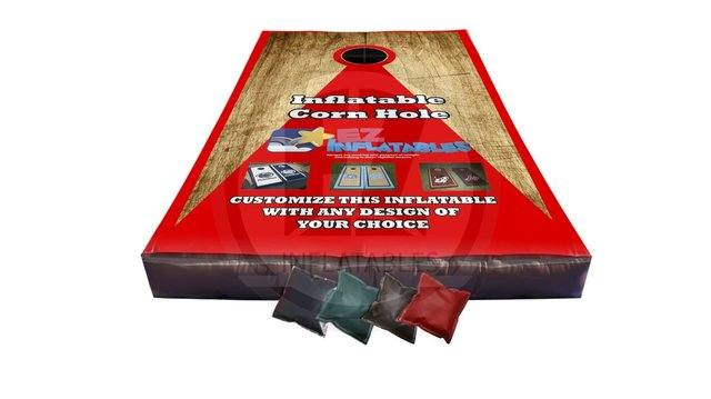 Inflatable Corn Hole