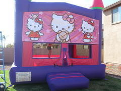 Hello Kitty Bounce Castle Deluxe