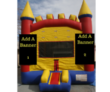 Rainbow Castle- Add 2 Banner!