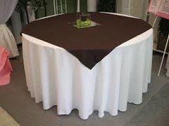 5 Table Linen Bases & 5 Tops