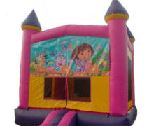 Dora The Explora Bounce House Deluxe