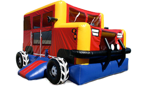 Hummer Monster Truck Bounce House