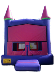 Pink & Purple Castle- Deluxe - Add 12' Banner