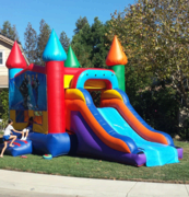 Dry Slide Bounce House Combo 2