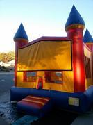 YELLOW CASTLE BOUNCE HOUSE
