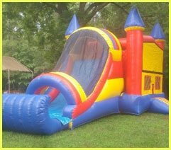 Castle Combo Bouncer Rental