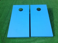 Blue Cornhole Board Set