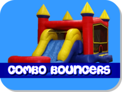 Large Bounce House Combo Units