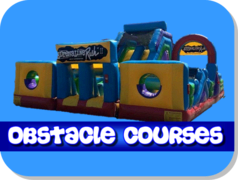 Inflatable Obstacle Course Rentals Fresno