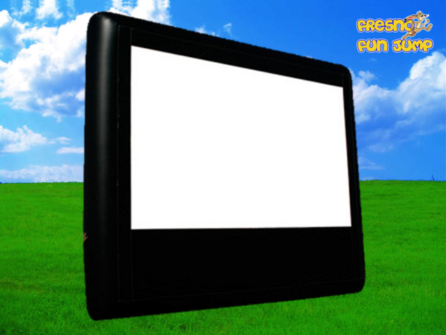 Giant Inflatable Movie Screen & Projector